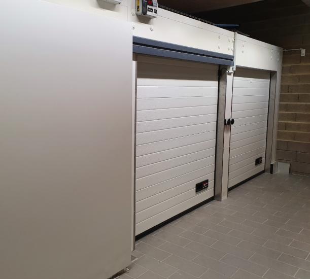 Porte sectionnelle industrielle S-80